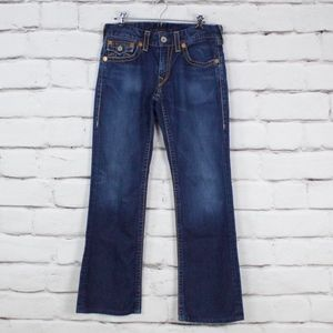 True Religion Billy Big T Dark Wash Jeans Size 33